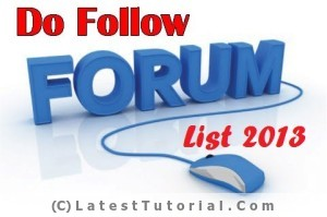 dofollow forums, dofollow blogs, dofollow forum list,