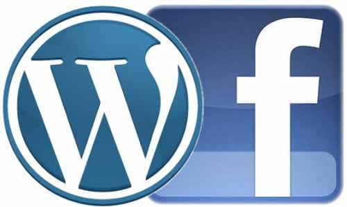how to link wordpress blog to facebook