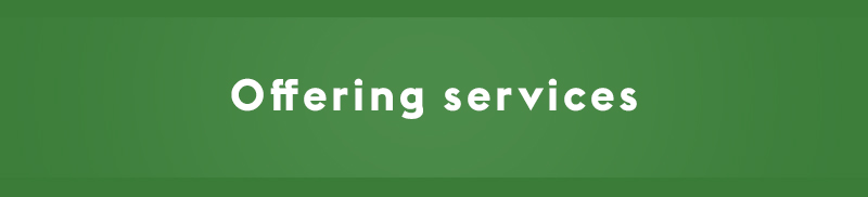 Offering services