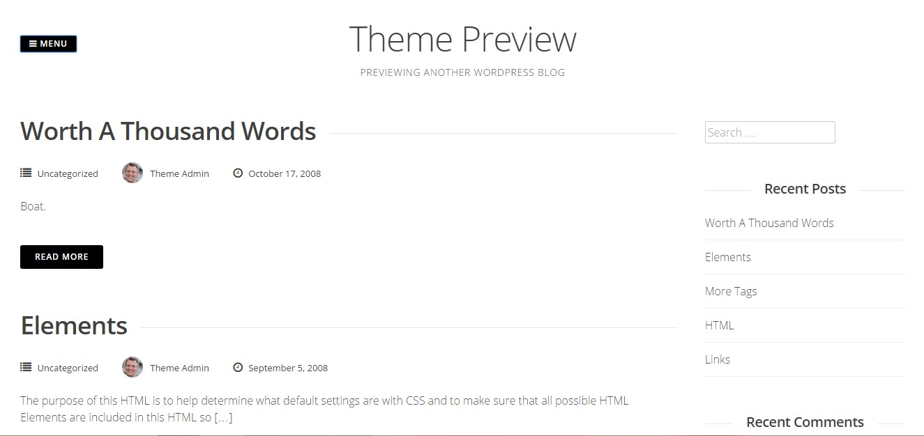 gridsby wordpress theme