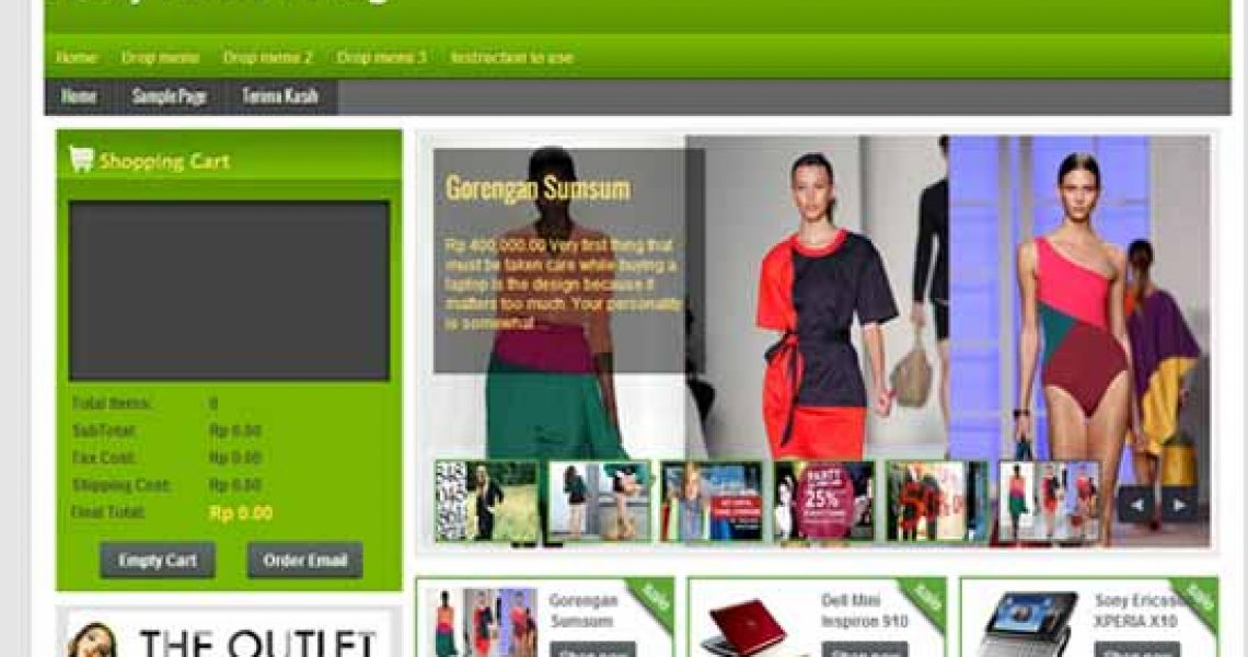 best ecommerce templates, online shopping blogger templates